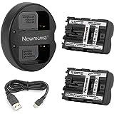 Newmowa NP-FM500H 互換バッテリー 2個+充電器 対応機種 Alpha A58 A57 A65 A77 A99 A900 A700 A580 A560 A550 A850 SLT a99 II TR917