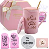 Inspirational Gifts for Women, She Believed She Could So She Did Mug Congratulations Graduation Get Well Spiritual Gifts for