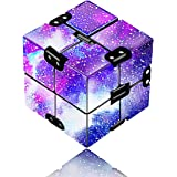 Yomiie Infinity Cube Fidget Toy for Adults and Kids, Fidget Finger Toy Stress and Anxiety Relief, Killing Time Unique Idea Co