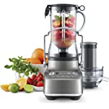 Breville The 3X Bluicer Juicer/Blender, Smoked Hickory, BJB615SHY