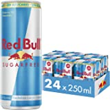 Red Bull Sugarfree Energy Drink Cans, 4 Pieces x 6
