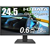 I-O DATA ゲーミングモニター 24.5インチ(75Hz) GigaCrysta PS4 FPS向き 0.6ms(GTG) FreeSync TN HDMI×2 DP EX-LDGC252STB