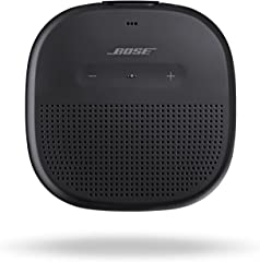 Bose SoundLink Micro, Portable Outdoor Waterproof Speaker with Wireless Bluetooth Connectivity - Black