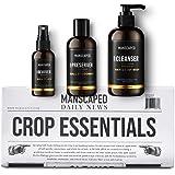 MANSCAPED™ Crop Essentials, Male Care Hygiene Bundle, Includes Crop Cleanser™ Invigorating Body Wash, Crop Preserver™ Moistur