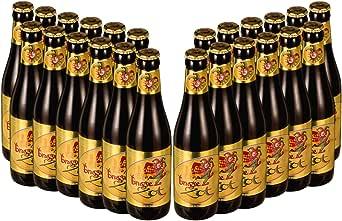 【輸入 ベルギー プレミアムビール】ブルッグス ゾット ブロンド(Brugse Zot Blond)330ml × 24本