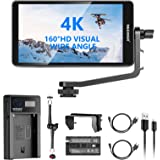 """Neewer FW568 5.5-inch Camera Field Monitor with 11"""" Articulating Arm, Li-ion Battery&USB Charger Kit for DSLRs&Gimbals: Full"""