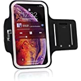 iPhone 8 Running Armband (Fingerprint ID Access). Sports & Exercise Phone Case Holder fits Small - Large Arms