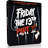 Friday the 13th Part II 40th Anniversary Limited Edition Steelbook (Blu-ray + Digital)