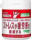 ロッテ マイニチケアガム(ストレスや疲労感を軽減するタイプ) ファミリーボトル 143g