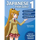 Japanese From Zero! 1: Proven Methods to Learn Japanese with integrated Workbook and Online Support