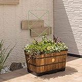 ガーデニング フラワー ガーデニング用品 エクステリア プランター 鉢 フラワースタンド 菜園プランター ベジトラグ パネルトレリス 2枚セット G90881(サイズはありません ウ:セージグリーン)