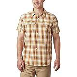 Columbia Men's Silver Ridge Short Sleeve Shirt Seersucker Shirt