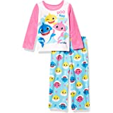 Baby Shark Baby Girls' 2-Piece Pajama Set