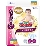Goon Tape Marshmallow Tailoring M (6~11kg) 62 Sheets for The First time of Underwear