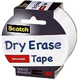 Scotch Dry Erase Removable Tape 48mm x 4.57m 1905R-DE-WHT