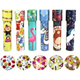 HAPTIME Set of 6 Classic Kaleidoscopes Educational Toys for Kids Party Favors Ideas Stock Stuffers Bag Fillers School Classro
