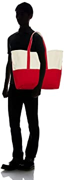 Boat and Tote Bag L 11-61-1021-593: Red