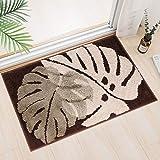 Indoor Door Mat,Super Absorbent Mud and Water Entrance Doormat 20X31.5 inch Rubber Backing Non Slip Front Back Door Rugs Insi