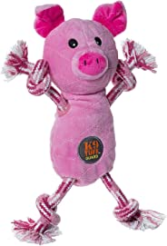 Charming Pets Tug O Fun Pig Interactive Toy, 8.5 x 17.5 x 26.5cm
