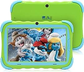 iRULU 7インチ子供用タブレット Android7.1搭載キッズタブレット IPS HDデスプレイ 1GB RAM/16GB ROM Wifi/Bluetooth対応 子供向けPC GMS認定 Y57