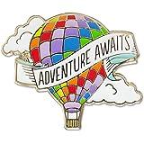 Adventure Awaits - Hard Enamel Pin (Cloisonne Pin)