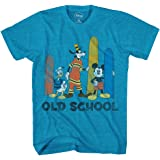 Disney Big Boys' Mickey Mouse, Donald Duck and Goofy T-Shirt