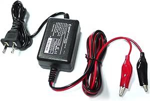 グッドグッズ(GOODGOODS) バイク用 バッテリー充電器 12V 1A バッテリーチャージャー 密閉型 開放型 シールド型 バッテリー 自動車 船舶 HE-03