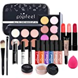 Professional Makeup Set,MKNZOME 20 Pcs Cosmetic Starter Kit With Storage Bag Portable Travel Make Up Palette Birthday Xmas Gi