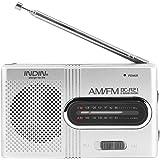 ポータブルラジオ 多機能 防災用 AM/FMラジオ 超薄型ミニポケットラジオ 住宅 アウトドア 乾電池式