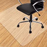 GeeWin Home Office Chair Mat for Hardwood Floor, 36'' x 48'' Clear Floor Mat for Rolling Chairs, Floor Protector Thick Durabl