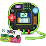 LeapFrog 80-606098 RockIt Twist Handheld Learning Game System, Green and 2-Game Pack: Cookie's Sweet Treats and Dinosaur Disc
