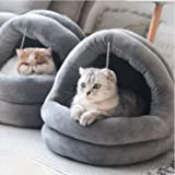 Tempcore Cat Bed for Indoor Cats, Machine Washable Cat Beds, Cat Beds for Indoor Cats or Small Dogs, Puppy, Kitty, Kitten, Ra