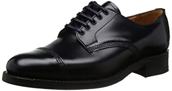 Military Derby Shoe 8803: Navy