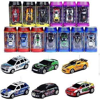 ミニラジコンカー Aandyou 1:63 ラジコンカー ラジコン缶 レーシングカーシリーズ(ランダムカラー)