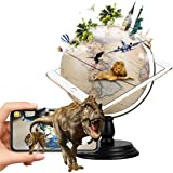 FUN GLOBE AR Explore The World Globe Desktop Education Geographic Interactive Earth Globes for Kids & Adults for Educational