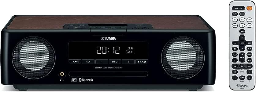 YAMAHA Bluetooth対応デスクトップオーディオシステム TSX-B232B ブラック