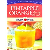 HealthWise Pineapple Orange Protein Drink (Seven Packets) by HealthWise