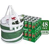 Heineken Lager Beer Can Party Bundle, 320 ml (Pack of 48)