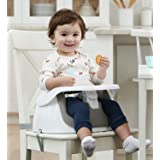 Regalo 2-in-1 Floor seat and booster seat - Gray