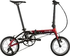 ダホン(DAHON) K3 3段変速 折りたたみ自転車 19K3RDBK00 レッド/マットブラック