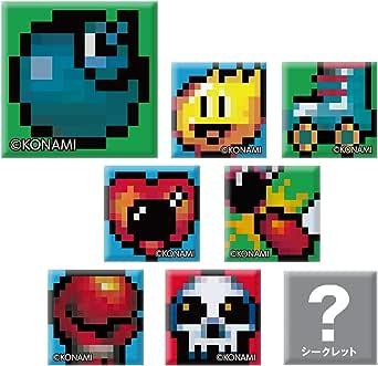 スーパーボンバーマン トレーディングスクエア缶バッジ BOX商品 1BOX=8個入り、全8種類