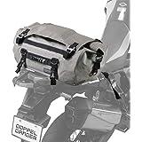 DOPPELGANGER(ドッペルギャンガー) ターポリンツーリングドラムバッグ 【バイク専用の防水ツーリングバッグ】 容量30L 専用固定ベルト・ショルダーベルト付き DBT511 W50 ×L(D)30 ×H30cm