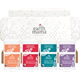 Mini Deodorant Travel Set by Earth Mama | Safe for Sensitive Skin, Pregnancy and Breastfeeding 4-Pack
