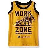 John Deere Boys Muscle T-Shirt Short Sleeve T-Shirt