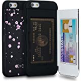 TORU CX PRO Compatible with iPhone 6S/iPhone 6 Case - Protective Dual Layer Wallet Pattern Floral with Hidden Card Holder + I