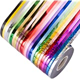 Naler 24 Rolls Curling Ribbon String Roll Gift Wrapping Ribbons for Party Art Crafts Florist Bows Gift Wrapping Wedding Decor