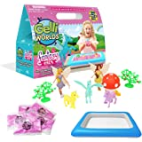 Gelli Worlds Fantasy Pack, Pink, Fantasy Toy Figures, 5 Use Pack, Children's Sensory & Imaginative Play Set