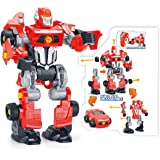 PowerTRC 3-in-1 Toy Robot Playset with 42 Modification Pieces, Electric Play Drill and Screwdriver
