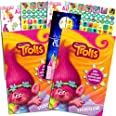 DreamWorks Trolls Stickerland Stickers Set -- Over 590 Trolls Stickers and Separately Licensed Door Hanger (8 Party Sticker S