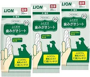 ライオン (LION) ペットキッス (PETKISS) PETKISS 歯みがきシート 30枚X3P
